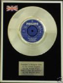 "WALKER BROS -7"" Platinum Disc MAKE IT EASY ON YOURSELF"